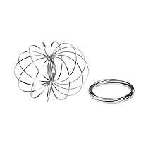 🔝 Игрушка антистресс Toroflux (Торофлакс), кинетические кольца-спираль, , Спінер, антистрес іграшки