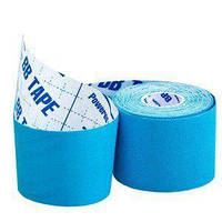 Кинезио тейп спортивный Sports Therapy Kinesiology Tape, 5 см х 5 м (голубой), фото 1