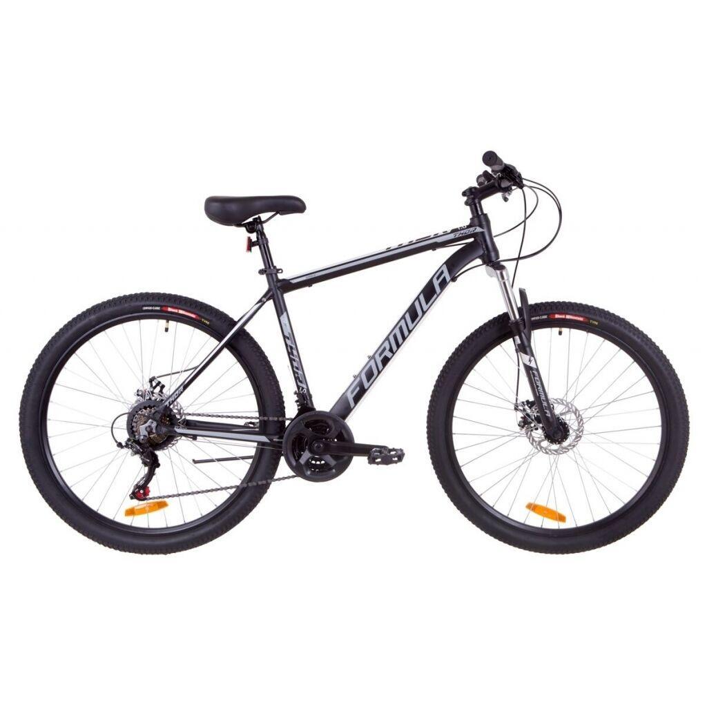"""Велосипед Formula 27.5"""" THOR 1.0 DD 2019 (оранжево-черный с бирюзовым) (OPS-FR-27.5-013)"""
