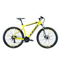 """Велосипед Leon 27.5"""" XC 80 HDD 2019 (желтый) (OPS-LN-27.5-042)"""
