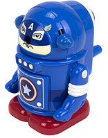Точилка механическая Leader Робот пластиковая цветная 0020/345609
