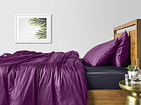 Комплект семейного постельного белья сатин VIOLET GREY-S
