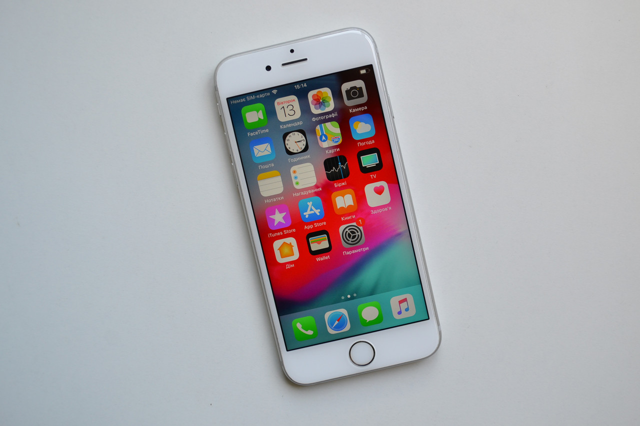 Apple iPhone 6s 64Gb Silver Neverlock Оригинал!