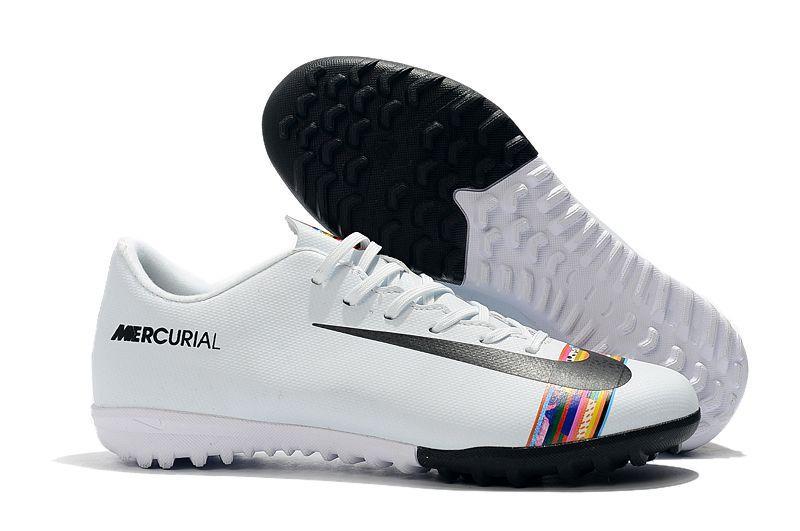 Сороконожки Nike Vapor XII Club TF CR7 white