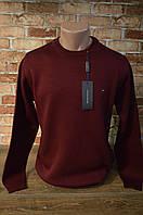6010-Tommy Hilfiger мужской гольф/Бордо, фото 1
