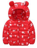 Детская легкая куртка демисезонная р 100