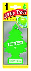 Ароматизатор в машину Little Trees Green Apple / Зеленое яблоко