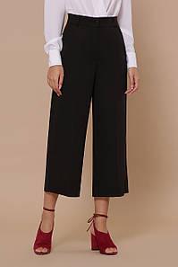 Женские брюки-кюлоты черные Эби