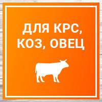Товары для КРС, коз, овец, лошадей