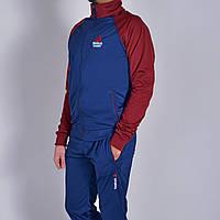 Остались размеры: М (46). Мужской спортивный костюм Reebok (Рибок) | Турция, Трикотаж-лакост