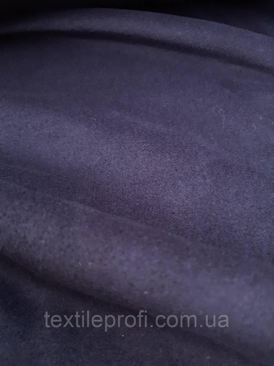 Кашемир темно - синего цвета, фото 1