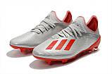 Бутсы Adidas X 18.1 FG grey, фото 2