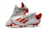 Бутсы Adidas X 18.1 FG grey, фото 4