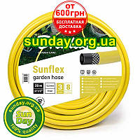 """Шланг для полива SUNFLEX желтый 1/4"""" (30 мм) 25м от Bradas. Бесплатная доставка при заказе от 600грн, фото 1"""