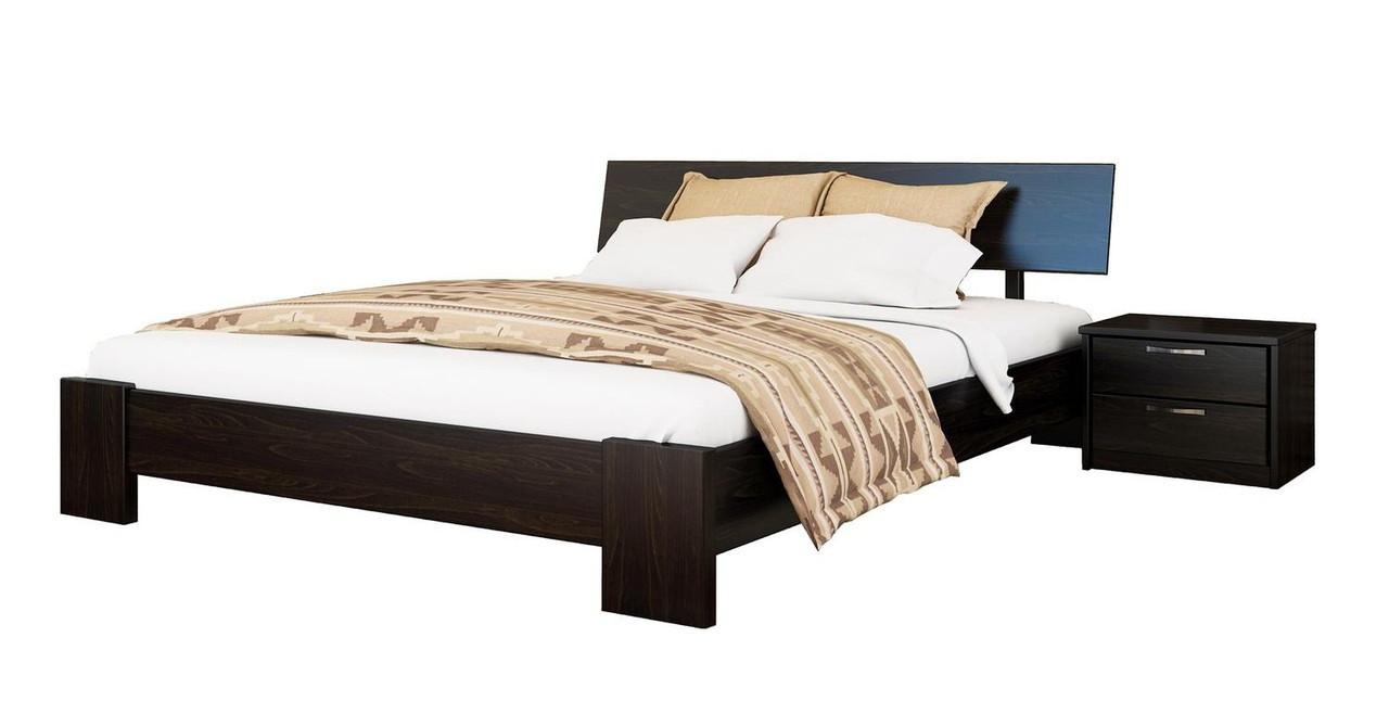 Кровать Титан 120х190 Бук Щит 106 (Эстелла-ТМ)