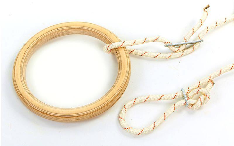 Кольца для гимнастики и кроссфита 4457