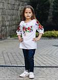 """Дитяча блузка з вишивкою - вишиванка """"Ладочка"""", фото 2"""