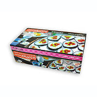 🔝 Набор для приготовления суши и роллов 5 в 1 Мидори, в домашних условиях | все для суши по Украине, Машинки для приготування ролів і пасти, долмеры,
