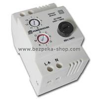 Керований вимикач LD-11 DIN виконанні з регулятором яскравості світла