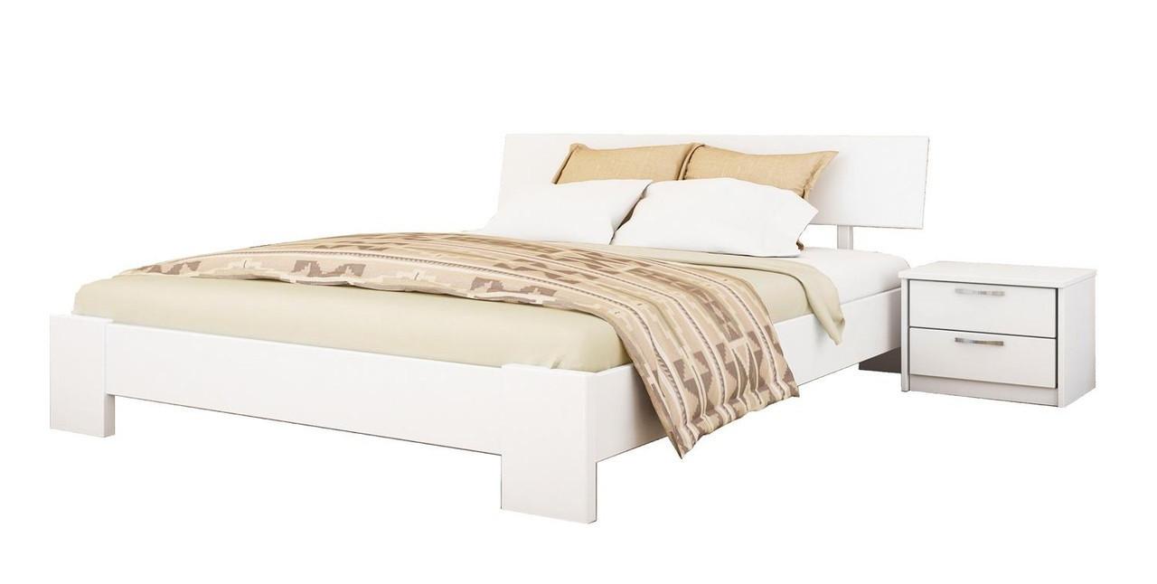 Кровать Титан 120х190 Бук Щит 107 (Эстелла-ТМ)
