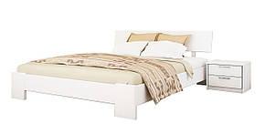 Кровать Титан 120х190 Бук Щит 107 (Эстелла-ТМ), фото 2