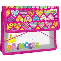 """Папка для зошитів пласт. на резинці В5 """"Little Princess"""" 491568"""
