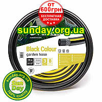 """Шланг для полива BLACK COLOUR черный 3/4"""" (19 мм) 50м от Bradas. Бесплатная доставка при заказе от 600грн, фото 1"""