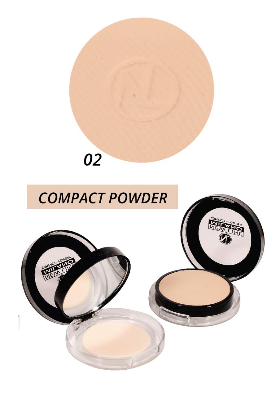 Компактная пудра - compact powder New Line Milano