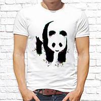 Мужская футболка Push IT с принтом Панда 2