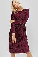 """Платье """"MIOS"""" бордовый осень"""