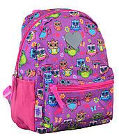 Рюкзак детский 1 Вересня K-19 Owl (24.5х20х11) Фиолетовый (555307qw)