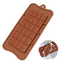 """Форма силиконовая для шоколада """"Плитка"""""""