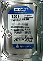 HDD 160GB 7200rpm 8MB SATA II 3.5 WD WD1600AAJS WCAT1D331513, фото 1