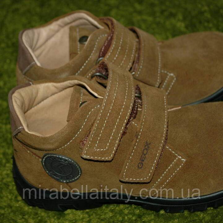 Geox ботинки кожа