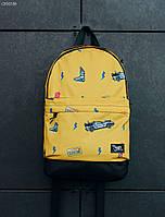 Желтый рюкзак Staff tealer yellow 27L modern, фото 1