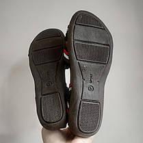 Босоніжки, шльопанці на плоскій підошві широка гумка різні кольори низький каблук, фото 2