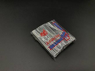 Скрутки завязки для пакетов. Фольгированая серебро. 8см. 760шт/уп