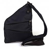 🔥✅ Мужская сумка мессенджер Cross Body ArtX Black (Кросс боди) Черная