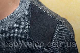 """Батник утеплённый  вставки на плечах"""" (рост от 116 до 134 см), фото 2"""