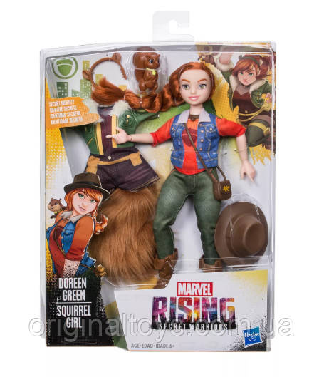 Кукла Девушка-белка Дорин Грин Marvel Rising Secret Warriors Doreen Green (Squirrel Girl) Hasbro