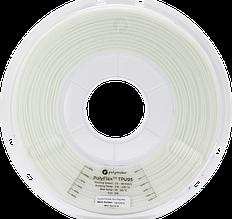 Пластик в котушці PolyFlex TPU95 1,75 мм, Polymaker, 0.75 кг білий