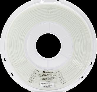 Пластик в котушці PolyFlex TPU95 1,75 мм, Polymaker, 0.75 кг, фото 2