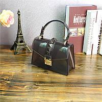 Модная прозрачная сумка с шипами опт, фото 1