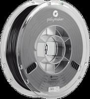 Пластик в котушці PolyFlex TPU95 1,75 мм, Polymaker, 0.75 кг чорний