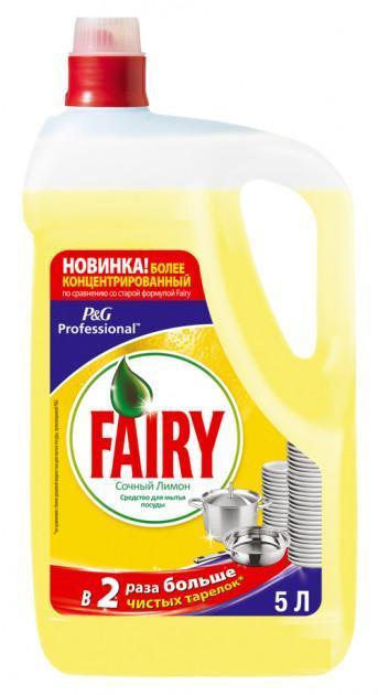 Фейри FAIRY спедство для мытья посуды 5 л