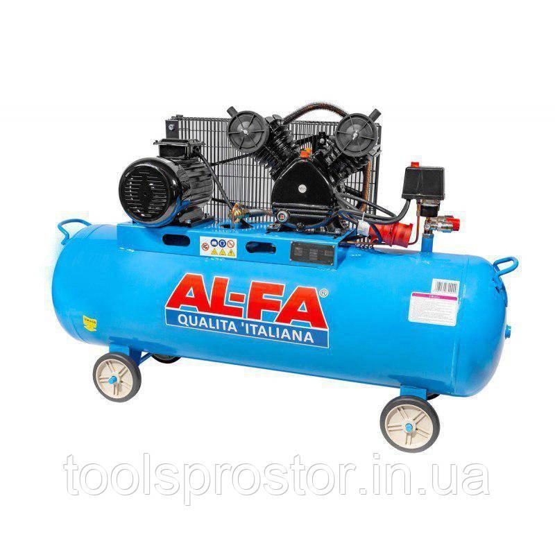 💡 Компрессор AL-FA ALC180-2 : 4.3 кВт - 180 л. | Чугунный блок (2-x поршневый масляный) - Звоните 👉 097 596 78 95  в Львове