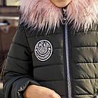 Зимнее пальто для девочек - сезон 2019 - (модель КТ-503), фото 2