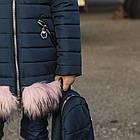 Зимнее пальто для девочек - сезон 2019 - (модель КТ-503), фото 3