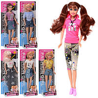 Детская кукла «Модница» Defa Lucy 8400-BF, 29 см, 6 видов