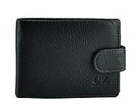 Мужское черное портмоне на кнопке Horton Collection Tr8922